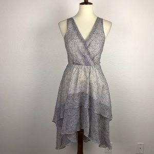 BCBGeneration Print Asymmetrical Dress